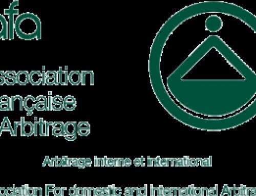 Remerciements à l'Association Française d'Arbitrage
