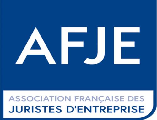 Résultat du Prix AFJE 2018