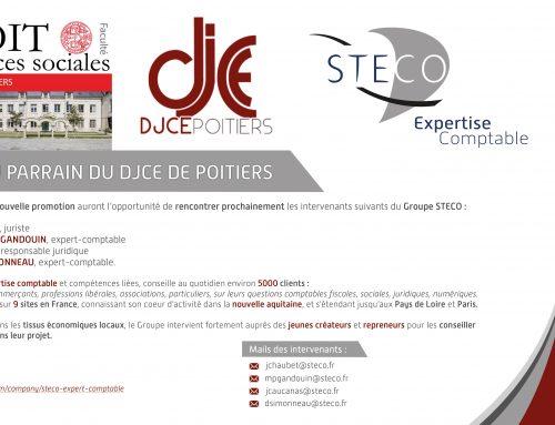 Nouveau parrain du DJCE de Poitiers