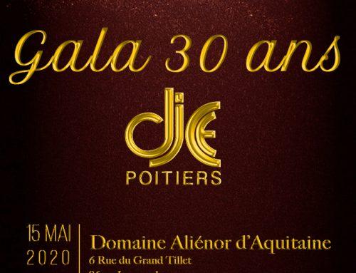 GALA DES 30 ANS DU DJCE DE POITIERS